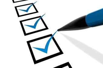 pre-inspection checklist